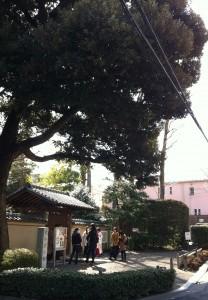 角川庭園へ