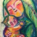 聖母子 a Madonna and Child