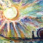 太陽 / 関門海峡  the sun & straits of Kanmon