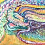 龍 Japanese mythical dragon
