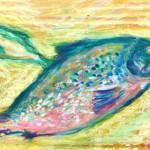 知恵の鮭 Salmon