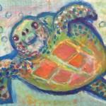 ウミガメ Sea Turtle / Honu