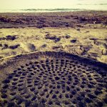 砂のマンダラ Mandala on the sand beach