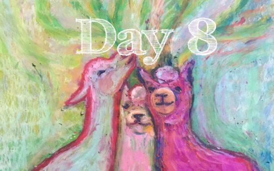 Advent Day 8 「アルパカ・ツリー」