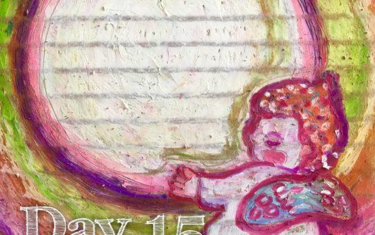 Advent day 15 「小さな光を運ぶ」