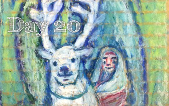 Advent day 20 「ムカッテルヨ、 ヨンデルヨ」