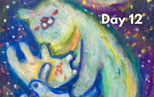 Advent art Day 12「ツキヨノネムリ」