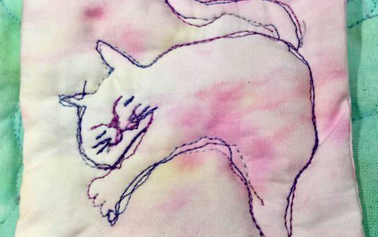 猫の世界におじゃまして・・・オラクルキルトコースターは1/31中まで