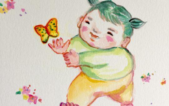 「Happy birthday Yuko!」バースデー画シリーズはじめました