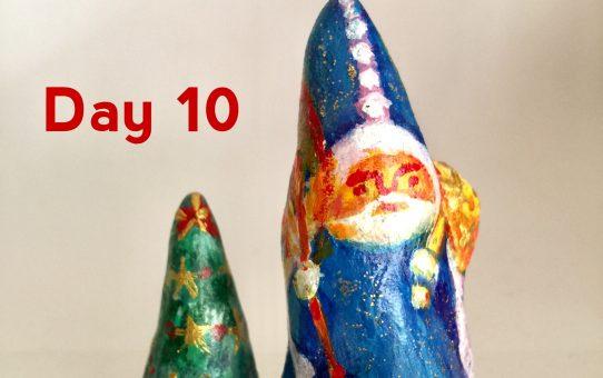 Advent art Day 10「聖ニコラウス」