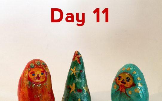 Advent art Day 11 「こどもたち」
