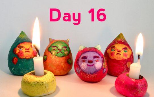 Advent art Day 16「クリスマス・鬼ャロル」