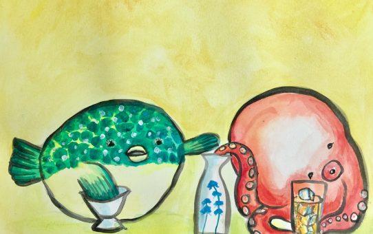 7月1日-13日「 海の底のうたげ(仮)」展@下関市 よもぎ亭